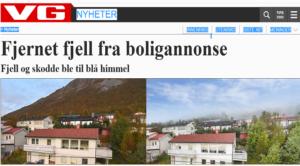 Fjernet fjell VG